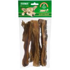 TitBit Рубец говяжий XL, 19 см, 4-5 шт. 66 г , Титбит лакомства для собак