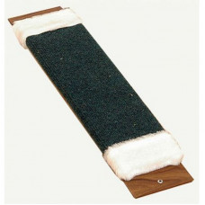 Паладинка Когтеточка доска ковровая с мехом малая