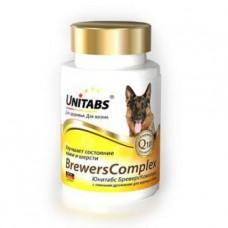 Юнитабс 100таб BrewersComplex для собак , Витамины для собак для общего иммунитета
