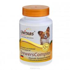 Юнитабс 100таб BrewersComplex для мелких собак , Витамины для собак для общего иммунитета