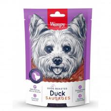 Wanpy Dog Duck утиные сосиски 100г