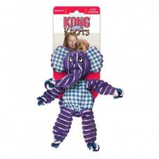 Kong игрушка для собак Floppy Knots слон большой 36*19 см.Конг