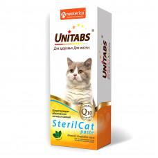 Unitabs SterilCat паста 120 мл стрир. котов и стерил кошек, предотвращает образование мочевых камней