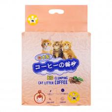 Hakase Arekkusu 10л Кофе комкующийся , Японский наполнитель