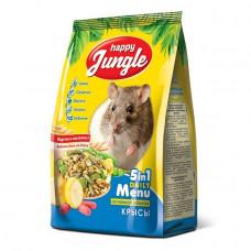 Happy Jungle осн.рацион ля крыс,400 гр