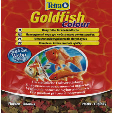 Tetra Goldfish Color 12г Хлопья для усиления естественной окраски
