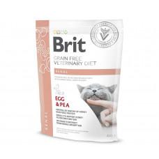 Brit VDC GF Renal 400гр  беззерновой для взрослых кошек при заболеваниях почек, с яйцами и горохом