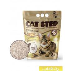 Cat Step Tofu Original 6л, растительный комкующийся , Кет степ наполнитель для кошек
