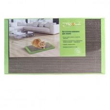 Когтеточка-лежанка картон 560*300*35мм Триол