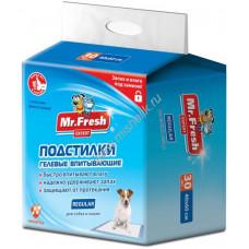 Mr.Fresh regular пеленки 40*60 30шт