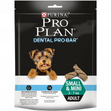 ProPlan Dental Pro Bar для мини пород 150г , Проплан лакомства для собак