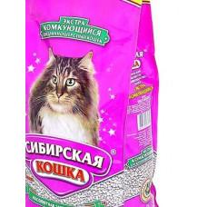 Сибирская Кошка Экстра 7 кг Комкующийся наполнитель для длинношерстных кошек