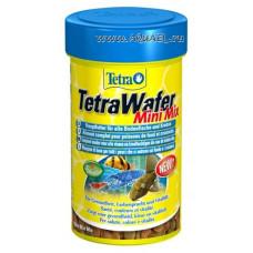 TetraWafer Mix 48 г для донных рыб (раки, креветки, сомики), таблетки 100 мл,