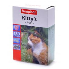 Beaphar Kitty's Protein 180 шт. Витаминизированное лакомство с протеином и вкусом рыбы для кошек , Б