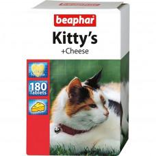 Beaphar Kitty's Cheese 180 шт Витаминизированное лакомство для кошек со вкусом сыра , Беафар , Беафа