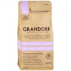 Grandorf Adult Mini Turkey&Brown Rice 1кг для взрослых собак мелких пород с индейкой и бурым рисом