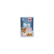 Brit premium пауч филе курицы в соусе 85 г для котят, Брит