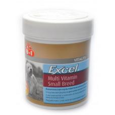 8in1 Эксель Мультивитамины для собак мелких пород 70 таб