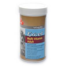 8in1 Эксель Мультивитамины для взрослых собак 70 таб