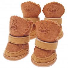 Ботинки УГИ коричневые р 1