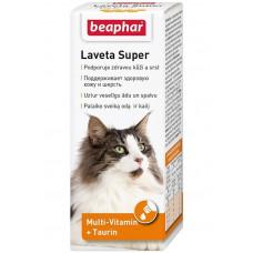 Beaphar Laveta Super for Cats 50 мл Масло для кожи и шерсти кошек, , Беафар , Беафар для кошек