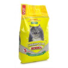 Сибирская Кошка Ультра 7л Комкующийся наполнитель