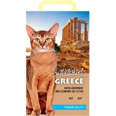 Savanna Greece Цветочный 8кг впитывающий  наполнитель для кошек  , Саванна для кошек
