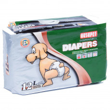Hush Pet подгузники д/собак L 16-25 кг уп.12 шт