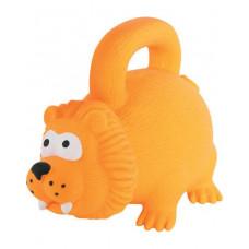 Игрушка латексная с ручкой, оранжевая, 15 см Zolux , Золюкс
