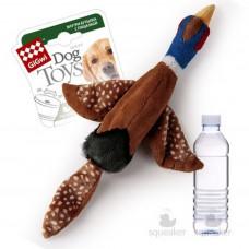GiGWi Птица с пластиковой бутылкой с пищалкой в крышке 120 г , Гигви