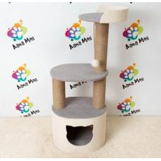Многоуровневый домик для кошек, 110 см. Арт. 21