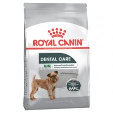 Royal Canin Mini Dental Care 1кг для собак с повышенной чувствительностью зубов