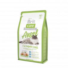 Brit Care Cat Angel Delighted Senior 2кг для пожилых кошек с курицей и рисом