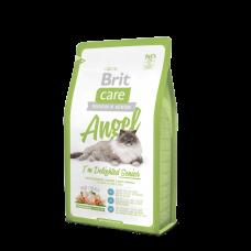 Brit Care Cat Angel Delighted Senior 7кг для пожилых кошек с курицей и рисом