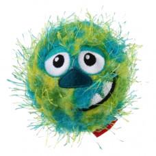 GiGWi Мяч-Морда с пищалкой тенисная резина зеленый 7см. , Гигви