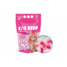 Cat Step Cиликагелевый (3.8 л) сакура , Кет Степ наполнитель