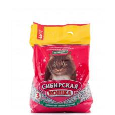 Сибирская Кошка Комфорт 3л Впитывающий наполнитель