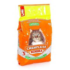 Сибирская Кошка Бюджет 3л Впитывающий наполнитель