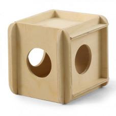 Игрушка-кубик для мелких животных 115*100*100 мм Гамма