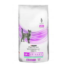 Pro Plan UR Urinary с рыбой 1,5кг для взрослых кошек при мочекаменной болезни, Проплан для кошек