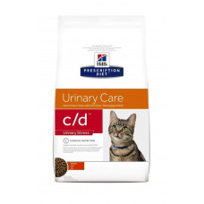 Hill's Prescription Diet c/d Urinary Stress Urinary Care Chicken 1,5кг для профилактики МКБ у взрослых кошек