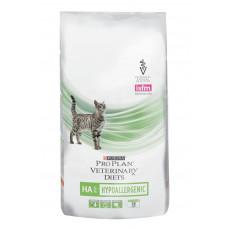 Pro Plan HA Hypoallergenic 1,3кг для взрослых кошек при лечении пищевой аллергии, Проплан для кошек