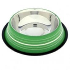 Миска нескользящая цветная с полоской 1,9 л VM-2510 (Е)