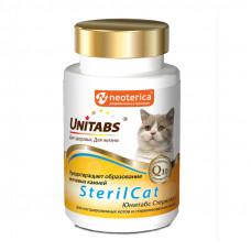 Unitabs SterilCat 120таб для кастрир. котов и стерил кошек, предотвращает образование мочевых камней