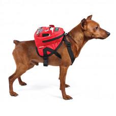 """Triol Рюкзак шлейка MINI-DOGS для собак мелких пород""""Автобус""""М,170*150*170мм,обхват груди 450-550мм"""