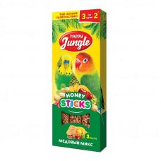 Happy Jungle д/попуг медовый микс 3шт
