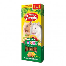 Happy Jungle д/грызунов медовый микс 3шт , Хэппи Джангл