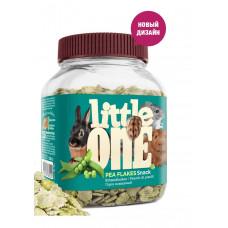 Little One Горох плющеный - лакомство для всех видов грызунов 230 г , Литл уан