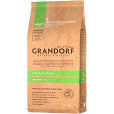 Grandorf Adult Mini Lamb&Brown Rice 3кг для взрослых собак мелких пород с ягненком и бурым рисом