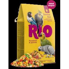 Rio для средних/крупных попугаев Гурмэ корм 250гр